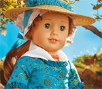 Color image of the Felicity Merriman American Girl doll.