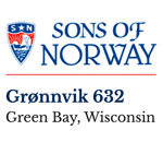 Sons of Norway Lodge 632 Green Bay, Wisconsin logo.