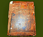 Photo by Lynn Kalil of the front cover of her mother's much used copy of The Settlement Cookbook.