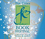 Logo of the 2013 Fox Cities Book Festival.