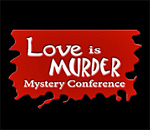 Love Is Murder 2015 Mystery Conference logo.