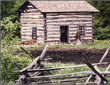Fossebrekke Cabin at Old World Wisconsin 1982