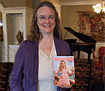Photo of Kathleen Ernst, 2013 winner of the Tofte/Wright Children's Literature Award from the Council for Wisconsin Writers.