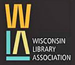 Logo of the Wisconsin Library Association.