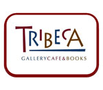Logo of Tribeca Gallery Cafe & Books in Watertown, Wisconsin.