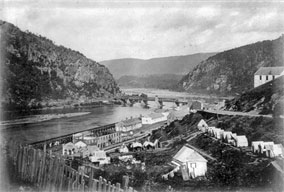 Harpers Ferry - (Then Part of Virginia) - Circa 1864
