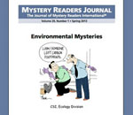 Image of the cover of Mystery Readers Journal spring 2013 issue.