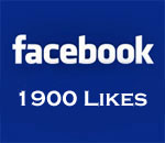 Facebook 1900 Likes graphic