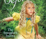 Partial front cover image of the Caroline American Girl children's historical mystery book The Smuggler's Secrets written by bestselling author Kathleen Ernst.