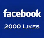 Facebook 2000 Likes graphic