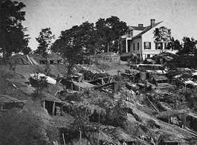 Union Army Bombproofs - Shirley House - 1863 Siege of Vicksburg MS