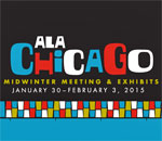 American Library Association Chicago 2015 Mid-Winter Meeting logo.