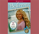 "Front cover of the Caroline American Girl book ""Catch the Wind"" written by bestselling author Kathleen Ernst."