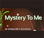Logo of the Mystery To Me bookstore in Madison, Wisconsin.