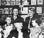 Laura Ingalls Wilder Booksigning November 17, 1952 at Brown Brothers Book Store in Springfield, MO (Credit: Laura Ingalls Wilder Home and Museum, Mansfield, MO.)