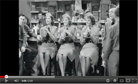 "The Andrews Sisters - ""Boogie Woogie Bugle Boy"" - 1941"