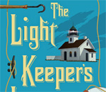 "Partial image of front cover of ""The Light Keeper's Legacy"" by author Kathleen Ernst, published by Midnight Ink Books."