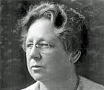 Black and white photo of Gratia Alta Countryman (1866-1954) librarian extraordinaire. Image courtesy of Wikipedia.