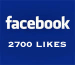 Graphic stating Facebook 2700 Likes. Created by Scott Meeker.