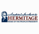 Logo of the Andrew Jackson's The Hermitage historic site in Nashville, Tennessee.