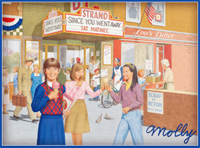 Molly's World - Jefferson Illinois - 1945