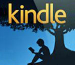 Amazon Kindle logo.