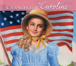"Image of partial cover of ""Changes For Caroline"" Caroline Abbott book 6 written by Kathleen Ernst, published by American girl."