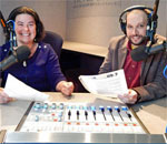 Bonnie North and Mitch Teich, co-hosts of Milwaukee Public Radio's Lake Effect show.