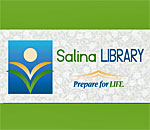 Logo of the Salina Free Library in Mattydale, New York.