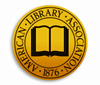 Image of the American Library Association logo.