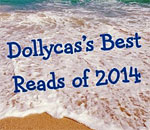 Snapshot of the Dollycas blog Best Reads of 2014 logo.
