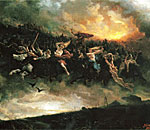Thumbnail photo of the 1872 painting Åsgårdsreien (The Wild Hunt) by Peter Nicolai Arbo.