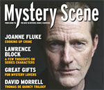 Partial image of Mystery Scene Magazine issue #147 front cover.