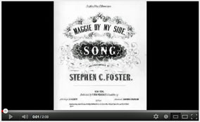 Maggie By My Side - Stephen Foster - 1854