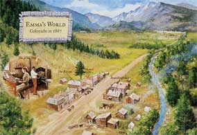 Emma's World - Twin Pines - Colorado Territory - 1867