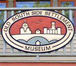 Milwaukee's Old South Side Settlement Museum sign.