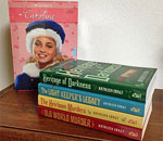 Photo of Caroline Abbott 6 book set and the 4 Chloe Ellefson books.
