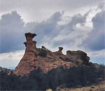 Photo by author Kathleen Ernst of New Mexico landscape.