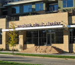 Photo of the Sequoya Branch Public Library in Madison, Wisconsin.