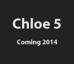 "Image saying ""Chloe 5 Coming 2014"""
