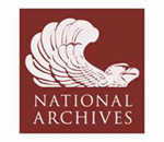 Logo of the US National Archives.