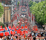 Oslo Norway Syttende Mai Constitution Day & Children's Day parade 2012. Photo credit ANSA via ThorNews.