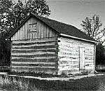The Gotton Cabin, located just northeast of the Village of Eagle, Wisconsin. Photo by Scott Meeker.