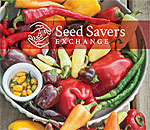 Partial image of Seed Savers Exchange 2017 catalogue front cover.