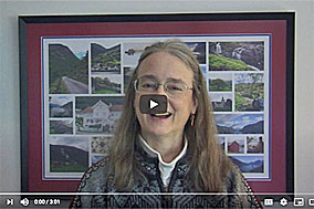 Video announcement about the Chloe Ellefson 2021 Tour to Norway with Author Kathleen Ernst