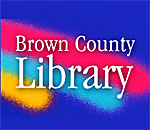 Logo of the Brown County Wisconsin Public Library.