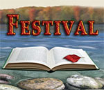 Logo of the 2017 Chippewa Valley Book Festival.