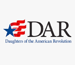 Daughters of the American Revolution logo.