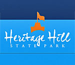 Logo of the Heritage Hill State Historic Park in Green Bay WI.