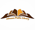 Logo of the Johnson Public Library in Darlington, Wisconsin.